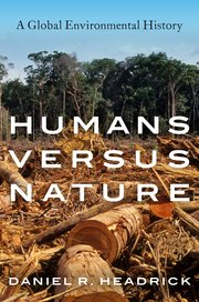 Cover for   Humans versus Nature