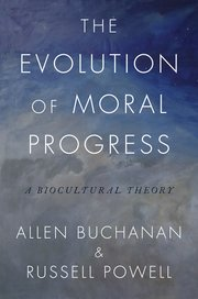 Cover for   The Evolution of Moral Progress