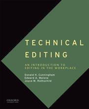 Cover for   Technical Editing