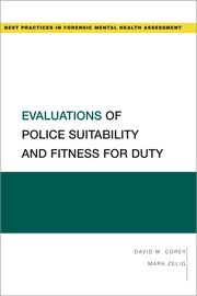 Cover for   Evaluations of Police Suitability and Fitness for Duty