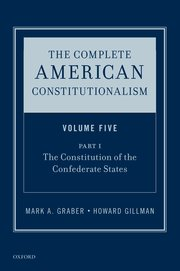 Cover for   The Complete American Constitutionalism, Volume Five, Part I
