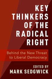 "Résultat de recherche d'images pour ""key thinkers of the radical right"""