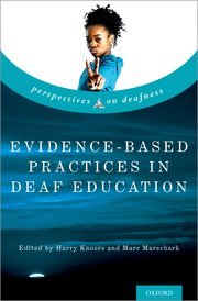 Cover for   Evidence-Based Practices in Deaf Education