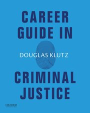 Cover for   Career Guide in Criminal Justice