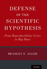 Cover for   Defense of the Scientific Hypothesis