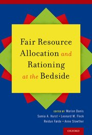 Cover for   Fair Resource Allocation and Rationing at the Bedside