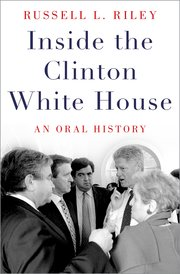 Cover for   Inside the Clinton White House