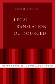 Cover for   Legal Translation Outsourced
