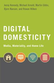 Cover for   Digital Domesticity