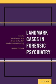 Cover for   Landmark Cases in Forensic Psychiatry