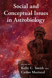 Cover for   Social and Conceptual Issues in Astrobiology