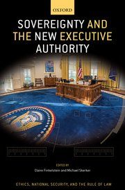 Cover for   Sovereignty and the New Executive Authority