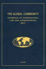 Cover for   The Global Community Yearbook of International Law and Jurisprudence 2017