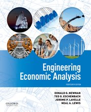 Cover for   Engineering Economic Analysis