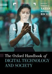 Cover for   The Oxford Handbook of Digital Technology and Society