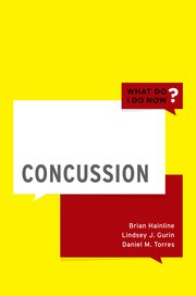 Cover for   Concussion