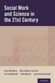 Cover for   Social Work and Science in the 21st Century