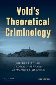 Cover for   Volds Theoretical Criminology