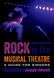 Cover for   Rock in the Musical Theatre