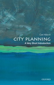 Cover for   City Planning: A Very Short Introduction