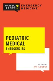 Cover for   Pediatric Medical Emergencies