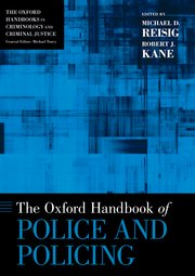 Cover for   The Oxford Handbook of Police and Policing