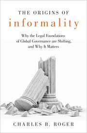 Cover for   The Origins of Informality