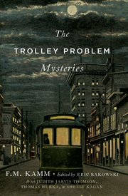 Cover for   The Trolley Problem Mysteries