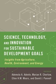 Cover for   Science, Technology, and Innovation for Sustainable Development Goals