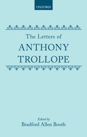 Cover for   The Letters of Anthony Trollope