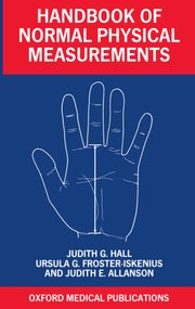 Cover for   Handbook of Normal Physical Measurements