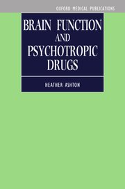 Cover for   Brain Function and Psychotropic Drugs