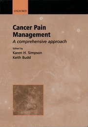 Cover for   Cancer Pain Management