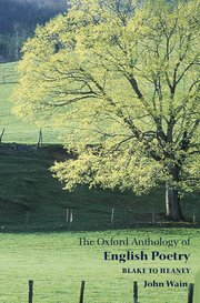 Cover for   The Oxford Anthology of English Poetry Volume II