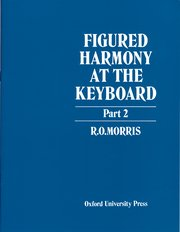 Cover for   Figured Harmony at the Keyboard Part 2