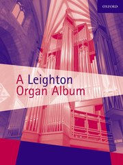 Cover for   A Leighton Organ Album