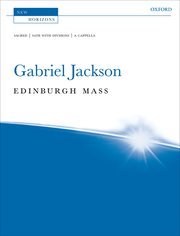 Cover for   Edinburgh Mass