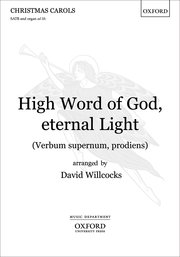 Cover for   High Word of God, eternal Light (Verbum supernum, prodiens)