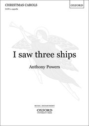 Cover for   I saw three ships