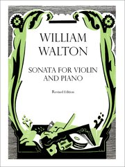Cover for   Sonata for Violin and Piano
