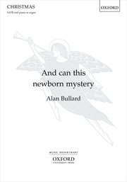 Cover for   And can this newborn mystery