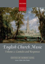 Cover for   English Church Music, Volume 2: Canticles and Responses