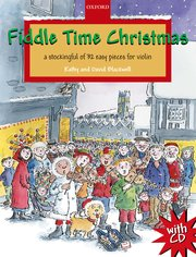 Cover for   Fiddle Time Christmas + CD