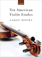 Cover for   Ten American Violin Etudes