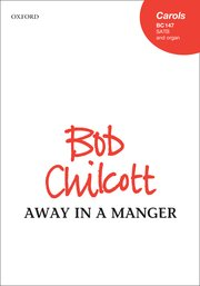 Cover for   Away in a manger