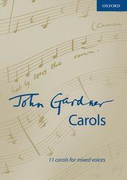 Cover for   John Gardner Carols