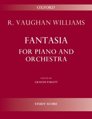 Cover for   Fantasia for piano and orchestra