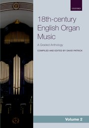 Cover for   18th-century English Organ Music, Volume 2