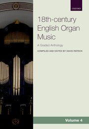 Cover for   18th-century English Organ Music, Volume 4