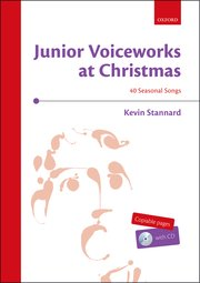 Cover for   Junior Voiceworks at Christmas + CD